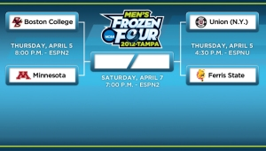 Let the Puck Drop in Tampa: Time for the 2012 Frozen Four